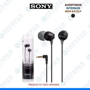 AUDIFONOS SONY MDR-EX15LP - NEGRO