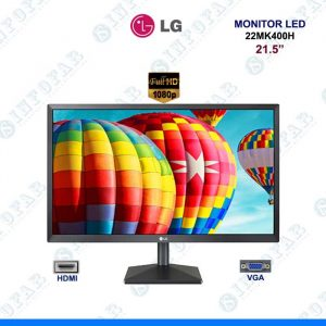 MONITOR LG 21.5 LED FULL HD NEGRO
