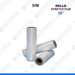 ROLLO STRETCH FILM X 12 PULGADAS
