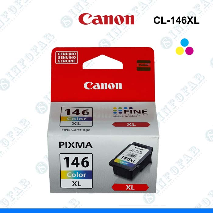 TINTA CANON CL-146XL COLOR - INFOFAR SYSTEM