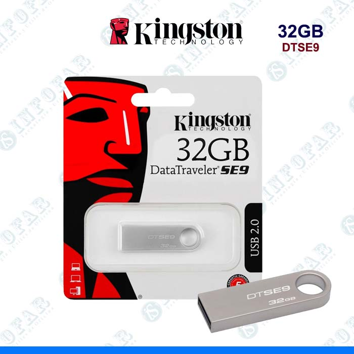 USB 32GB KINGSTON DTSE9 METAL