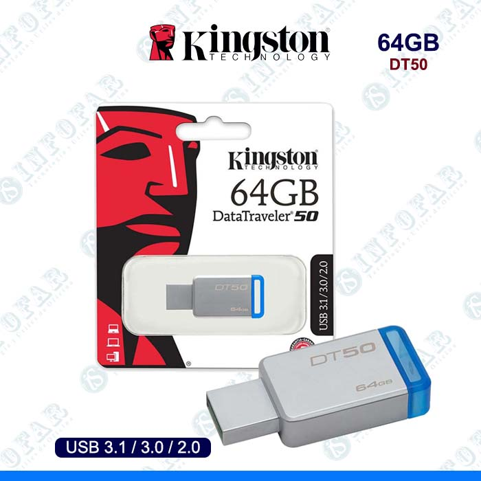USB 64GB KINGSTON DT50 METAL