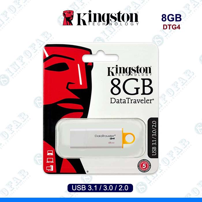 USB 8GB KINGSTON DTG4