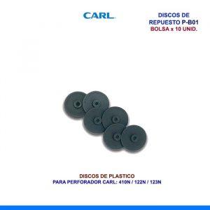 DISCOS DE REPUESTO CARL P-B01