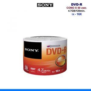 DVD-R SONY X 50 UNID