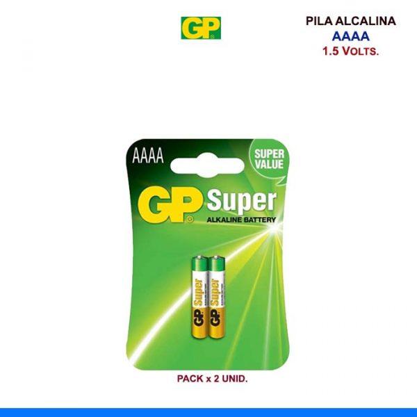 PILA ALCALINA GP AAAA 1.5V